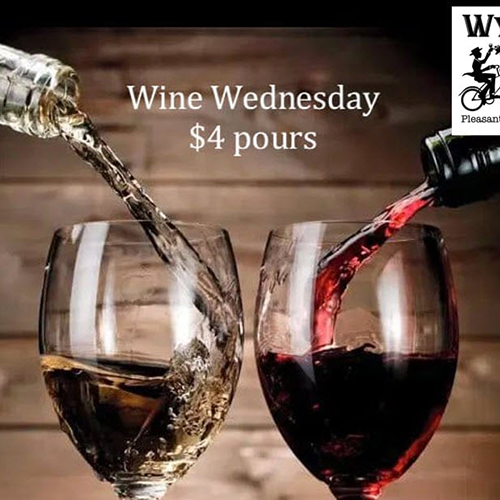 Wine Wednesday $4 Pours